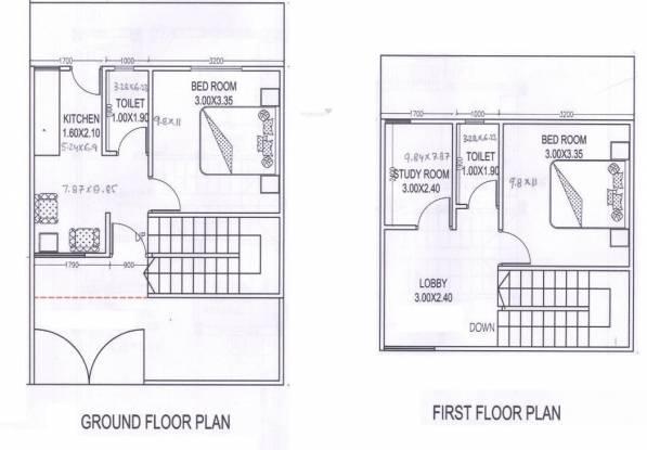 Amrit Pebble Bay Phase II (3BHK+2T (1,160 sq ft) Villa 1160 sq ft)