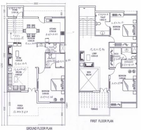 Amrit Pebble Bay Phase II (3BHK+3T (1,398 sq ft) Villa 1398 sq ft)