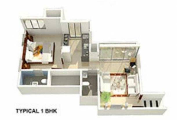 Lords (1BHK+1T (714 sq ft) Apartment 714 sq ft)