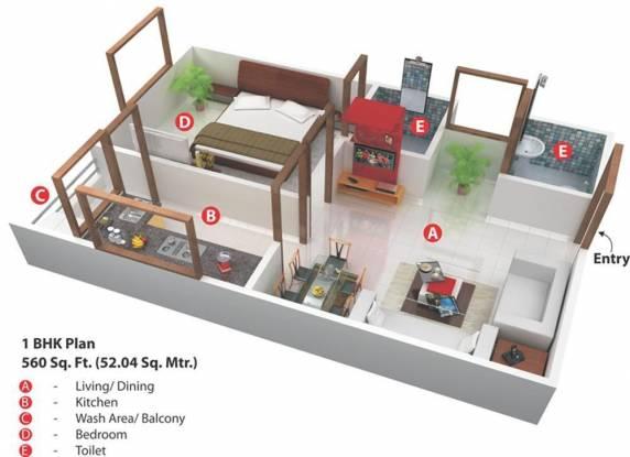 Nariman Nariman Point (1BHK+1T (560 sq ft) Apartment 560 sq ft)