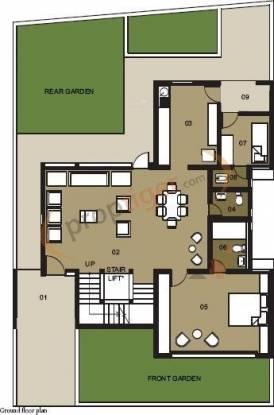 Ambuja Ujaas The Condoville Villas (4BHK+5T (3,846 sq ft) + Servant Room Villa 3846 sq ft)