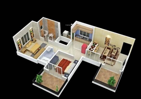 Karan Ceto (2BHK+2T (1,200 sq ft) Apartment 1200 sq ft)