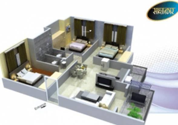 Ashok Vanara Land Developers Sakshatkar Bungalows (3BHK+2T (1,170 sq ft) Apartment 1170 sq ft)