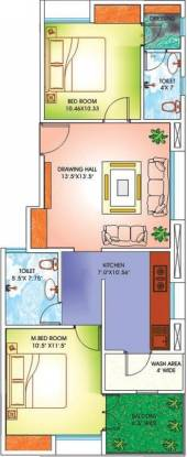 Maharshee Murlidhar Apartments (2BHK+2T (1,035 sq ft) Apartment 1035 sq ft)