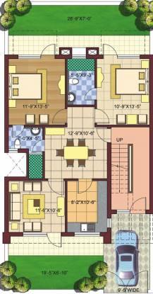 Parsvnath Royal Villas (2BHK+2T (1,150 sq ft) Villa 1150 sq ft)