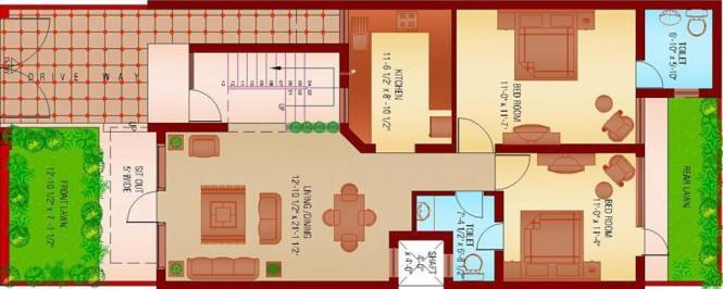 Sanfran Green Homes City (3BHK+3T (2,245 sq ft) Villa 2245 sq ft)