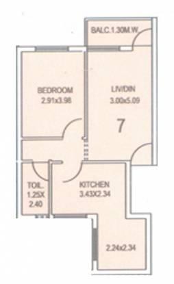 Kurtarkar Real Estate Jairam Phase 3 Kurtarkar Real Estate Jairam Phase 3 (1BHK+1T)