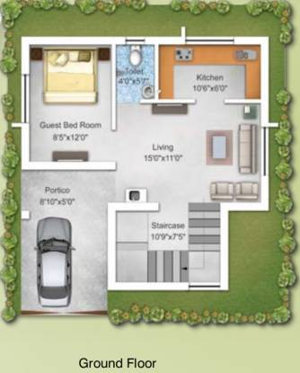 Greenfield Mantra Manor (3BHK+3T (1,230 sq ft) Villa 1230 sq ft)