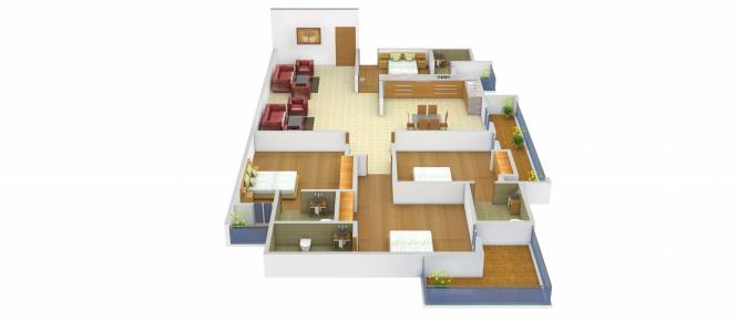 AGI Jalandhar Heights (4BHK+4T (2,050 sq ft) Apartment 2050 sq ft)