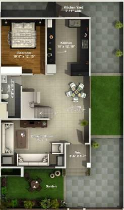 Aakriti Aquacity Powai (4BHK+4T (2,150 sq ft) Villa 2150 sq ft)