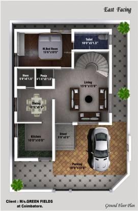 Nachatra Classic Phase II (3BHK+3T (1,750 sq ft) + Pooja Room Villa 1750 sq ft)