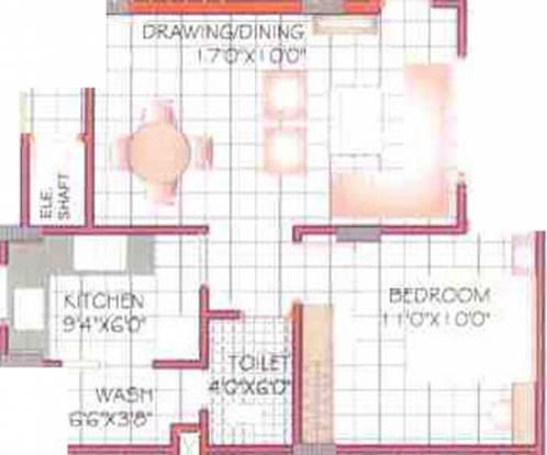 Sunil Nilgiri Apartment (1BHK+1T (630 sq ft) Apartment 630 sq ft)