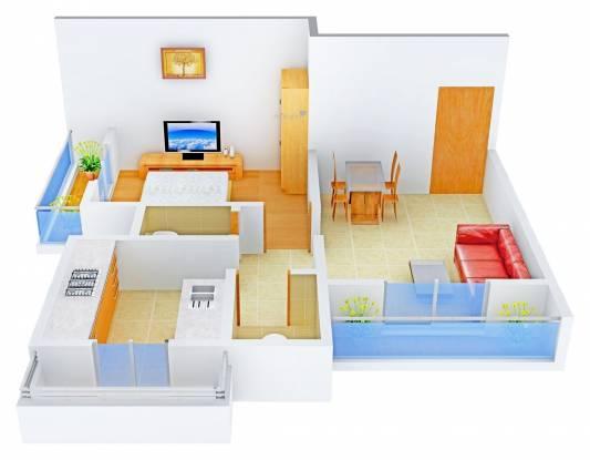 Ritu Gardenia (1BHK+1T (650 sq ft) Apartment 650 sq ft)