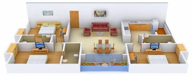 Prudent Jaishree (3BHK+3T (1,979 sq ft) Apartment 1979 sq ft)