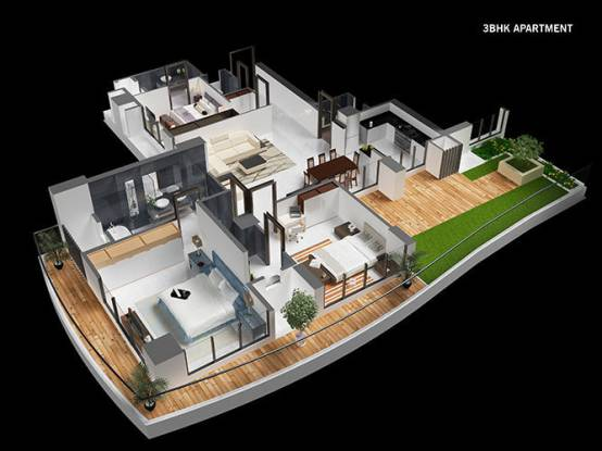 101 Worli Residences (3BHK+3T (1,200 sq ft) Apartment 1200 sq ft)
