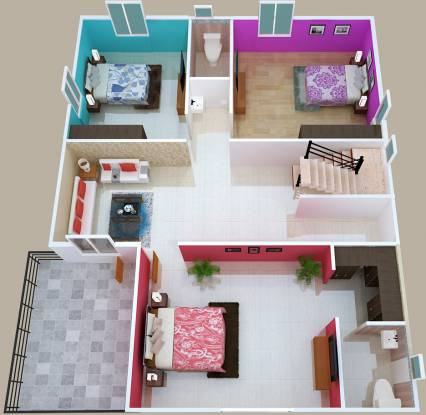 Sankalpa Green Park Villas (4BHK+4T (2,400 sq ft) Villa 2400 sq ft)