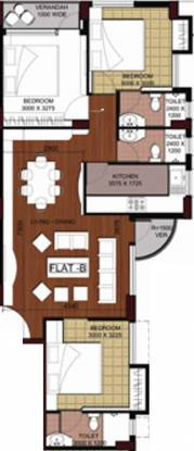 Roytech Eastern Woods (3BHK+3T (1,430 sq ft) Apartment 1430 sq ft)