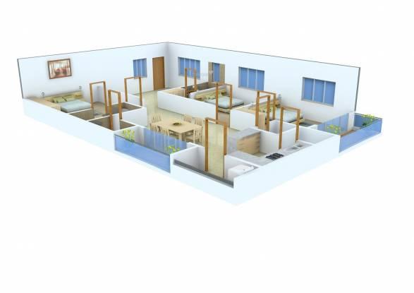 Prakruthi AGR Castle (3BHK+3T (2,165 sq ft) Apartment 2165 sq ft)