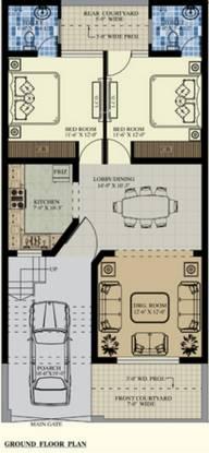 Divine Divine Villas (3BHK+3T (1,080 sq ft) Villa 1080 sq ft)