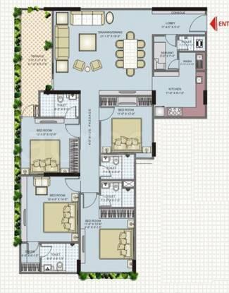 Parsvnath Srishti (4BHK+4T (2,347 sq ft) Apartment 2347 sq ft)