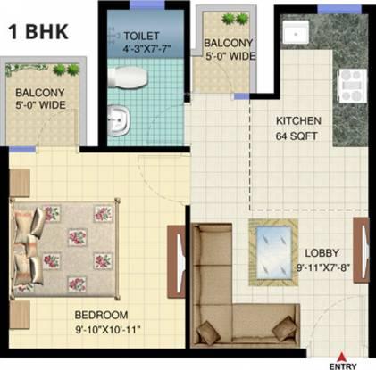 Signature Solera (1BHK+1T (560 sq ft) Apartment 560 sq ft)