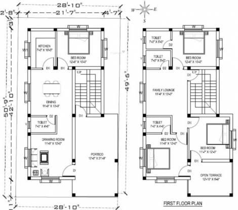 Jagdish Villa (4BHK+4T (2,250 sq ft) Villa 2250 sq ft)