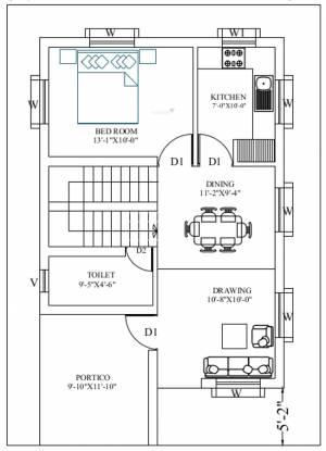 Intellex Imperia (3BHK+3T (1,400 sq ft) Villa 1400 sq ft)