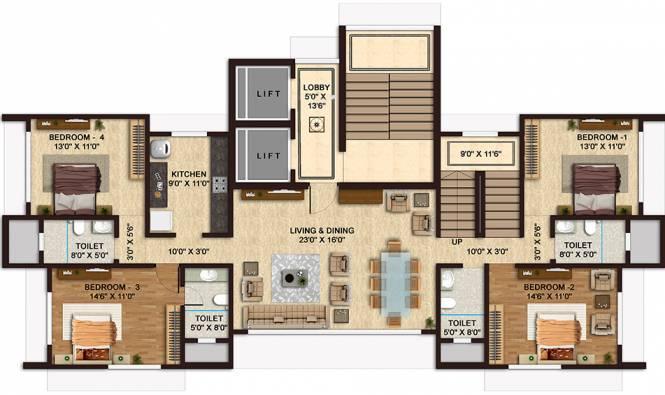 Shamiks Mangal Kutir (7BHK+6T (2,346 sq ft) Apartment 0 sq ft)