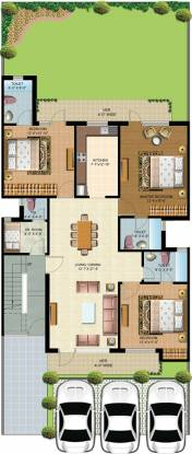 Omaxe Cassia Floors (3BHK+4T (1,725 sq ft)   Servant Room Apartment 1725 sq ft)