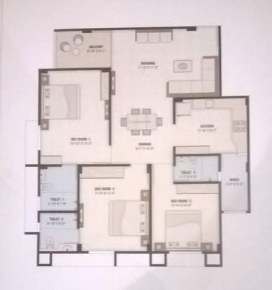 Sushobhan Shlok Exotica (3BHK+3T (1,800 sq ft) Apartment 1800 sq ft)