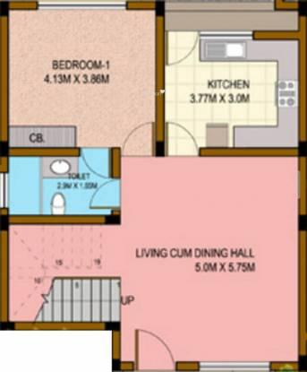 Highland Villas (3BHK+3T (1,905 sq ft) Villa 1905 sq ft)