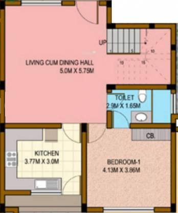 Highland Villas (3BHK+3T (1,920 sq ft) Villa 1920 sq ft)