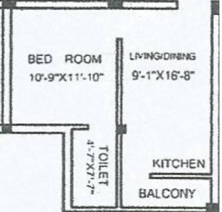 Jai Maa Priya Naina Enclave (1BHK+1T (700 sq ft) Apartment 700 sq ft)