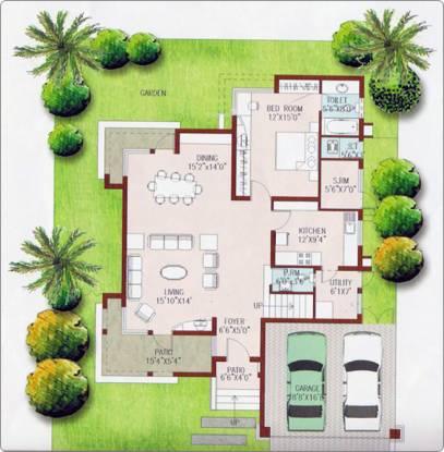 Prestige Ozone (3BHK+3T (2,000 sq ft) Villa 2000 sq ft)