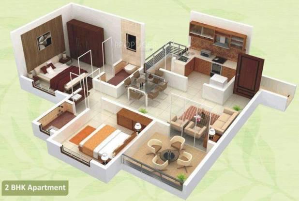 Arihant Green City (2BHK+2T (860 sq ft) Apartment 860 sq ft)