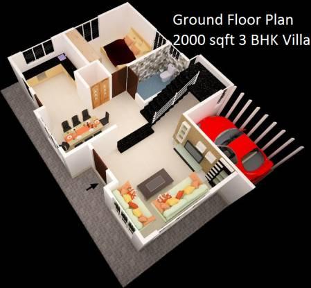 Nanda Prakruthi Villas (3BHK+3T (2,000 sq ft) Villa 2000 sq ft)