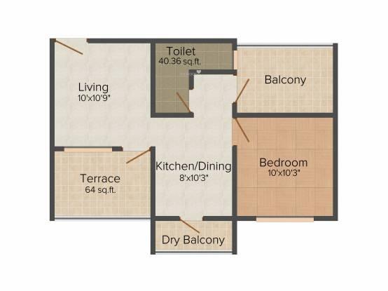 Om Sai Shiv Sai (1BHK+1T (660 sq ft) Apartment 660 sq ft)