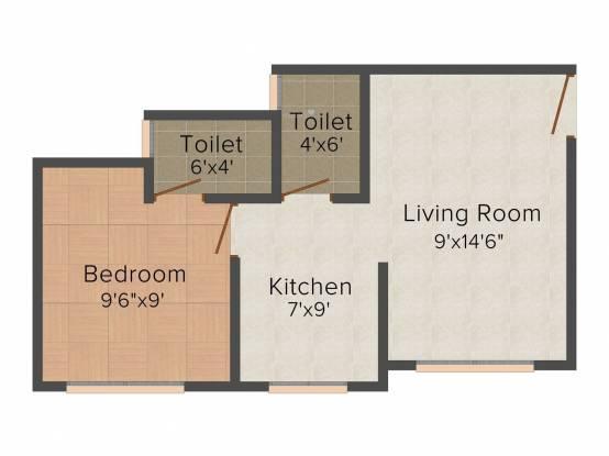 Nest Lotus (1BHK+1T (510 sq ft) Apartment 510 sq ft)