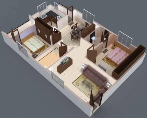 Incredible Brs Subha Nilayam (2BHK+2T (1,120 sq ft) Apartment 1120 sq ft)