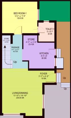 Pratham Vatika (3BHK+3T (1,350 sq ft) + Study Room Villa 1350 sq ft)