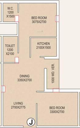 Tirath Devi Apartment (2BHK+2T (740 sq ft) Apartment 740 sq ft)