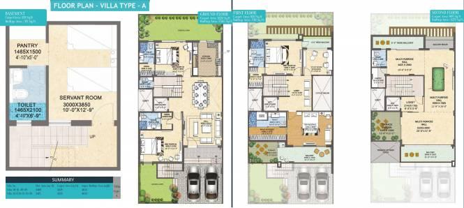 Rishita Mulberry (4BHK+6T (4,653 sq ft) + Study Room Villa 4653 sq ft)