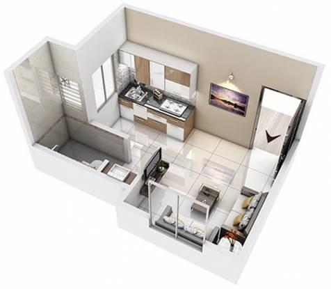Unicon Avasa Part 1 (1RK (138.32 sq ft) Apartment 138.32 sq ft)