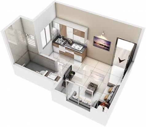 Unicon Avasa Part 1 (1BHK+1T (180.3 sq ft) Apartment 180.3 sq ft)