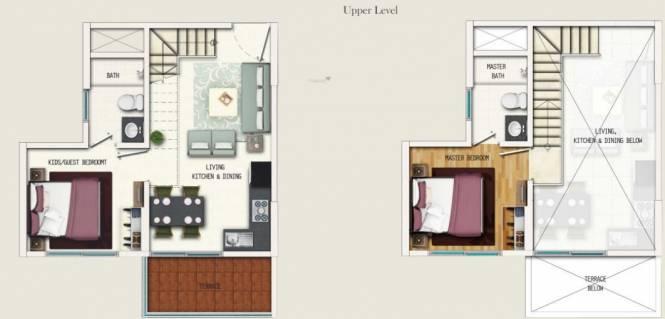 Geras Adara (2BHK+2T (465.54 sq ft) Apartment 465.54 sq ft)