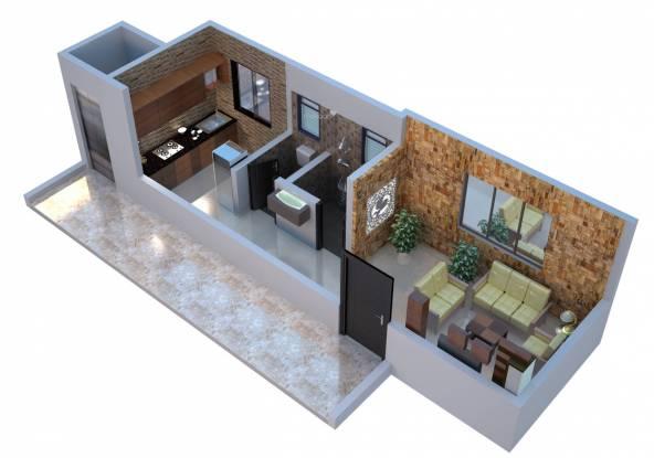 Khatri Nx (1RK+1T (306 sq ft) Apartment 306 sq ft)