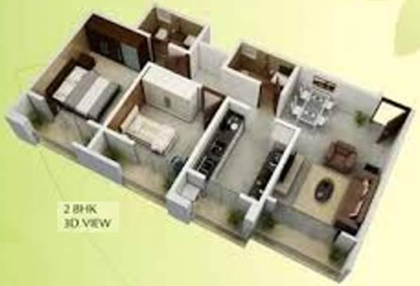 Platinum Emporius (2BHK+2T (412.37 sq ft) Apartment 412.37 sq ft)