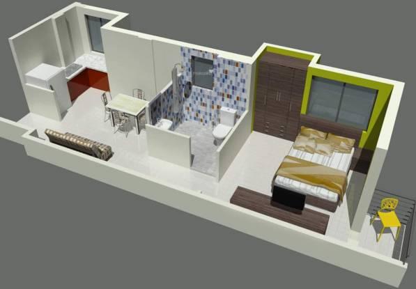 RR Astha Apartment (1BHK+1T (481 sq ft) Apartment 481 sq ft)