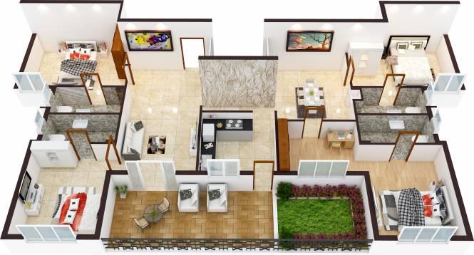 Bharathi Brikhouse (4BHK+4T (1,860 sq ft) Apartment 1860 sq ft)
