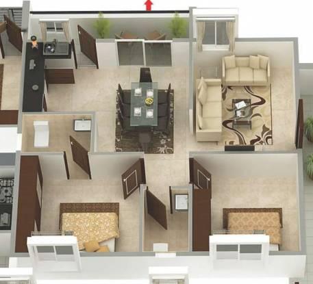 Parthu Pride (2BHK+2T (1,000 sq ft) Apartment 1000 sq ft)